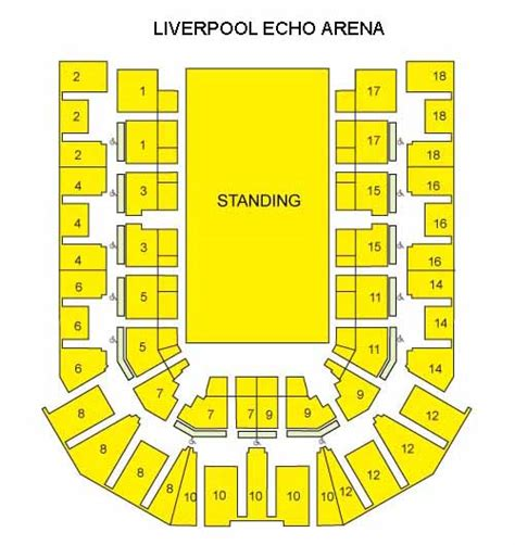 Echo Arena Floor Plan Echo Arena Floor Plan Virgin Trains Seating Plan Related