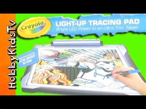crayola wars light up tracing pad product review crayola light box doovi