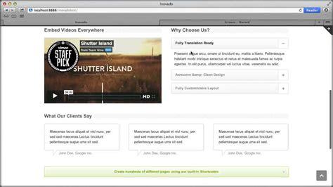 x theme blog navigation set up home page blog page navigation on inovado theme
