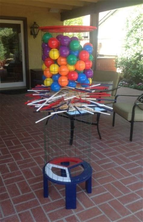 backyard kerplunk game giant kerplunk game as well as large knock your block off