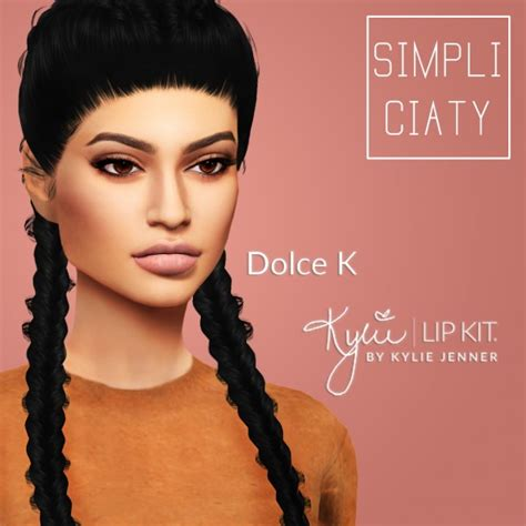 kylie sims 4 lip kit simpliciaty kylie lip kit sims 4 downloads