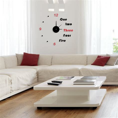 Living Room Clocks by Modern Wall Clock Designs To Your Home Decor