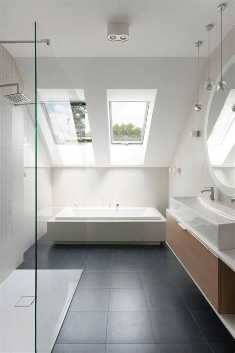 skylight in bathroom 30 awesomely airy bathroom designs with skylight rilane