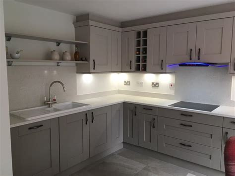 Shaker Kitchen With Granite Worktops by Clients Buckingham And Grey Shaker Kitchen