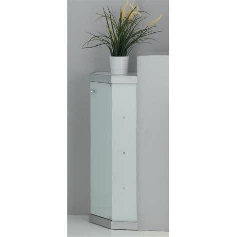 vetrina bagno vetrina angolare per arredo bagno in cristallo temp