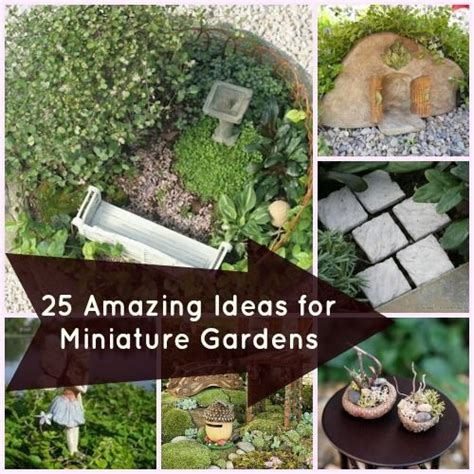 25 cute diy fairy furniture and accessories for an 25 perfect accessories for miniature gardens gardens