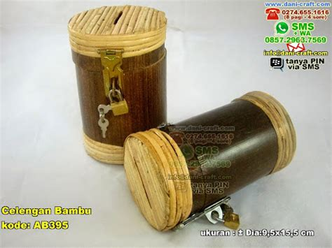 celengan bambu souvenir pernikahan