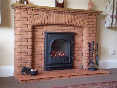 Brick Built Fireplaces gazco stockton in existing brick fireplace debrett fires