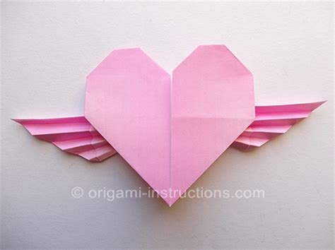 How To Make Origami Wings - the gallery for gt how to make origami with wings