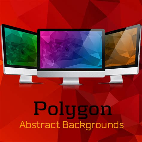 polygon abstract backgrounds  behance