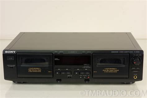 stereo cassette deck sony tc we425 stereo cassette deck the room