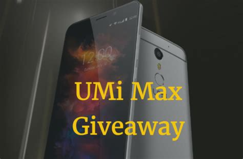 Umi Giveaway - umi max available for pre sale from tomtop com coupon inside gizmochina