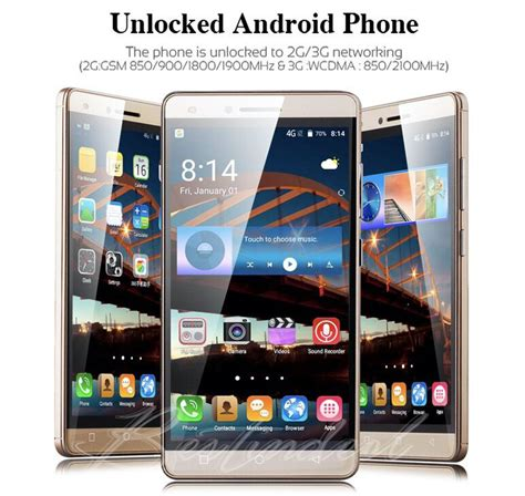 3g supported mobile 5 0 quot mobile phones quad core wifi 3g unlocked dual sim