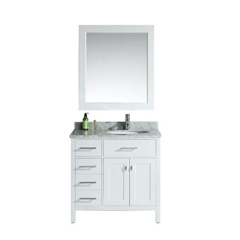 design element two london 36 in w x 22 in d vanity in design element london 36 in w x 22 in d single vanity in