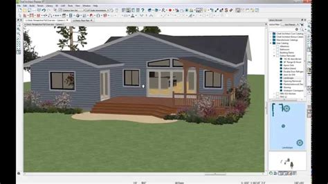 home design software overview decks and landscaping chief architect deck design new structural features 4