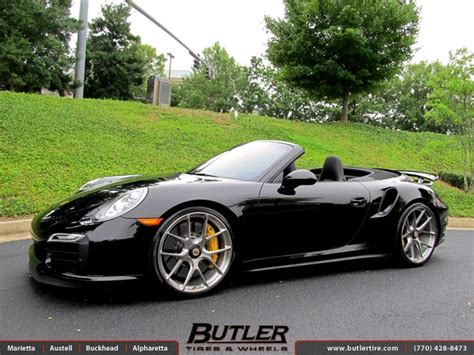 Kaos Bigsize Porsche 101 porsche 991 turbo s with 21in hre p101 wheels exclusively from butler tires and wheels in