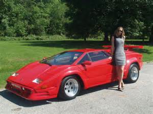 Real Lamborghini For Sale Used Lamborghini Countach Replica For Sale