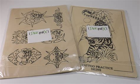 tattoo zubehör online kaufen inkgrafix onlineshop tattoo 220 bungshaut mit motiv wie