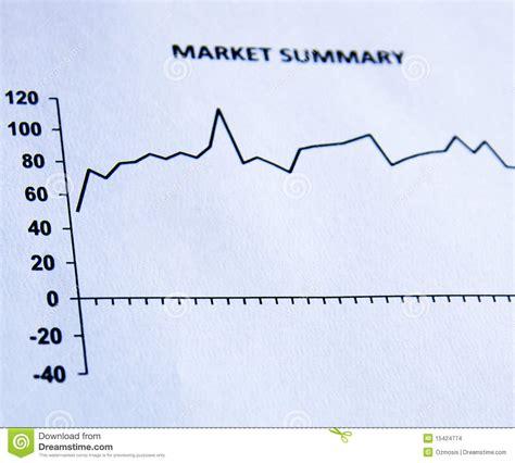 To Market Recap Glasses by Market Summary Stock Images Image 15424774