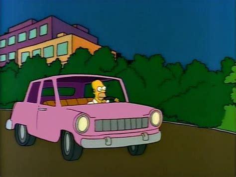 Wheels The Simpsons Homer Family Car Pink Sedan 2017 Hw Miniature image gallery simpsons vehicles
