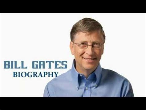 biography of william henry bill gates biography of bill gates youtube