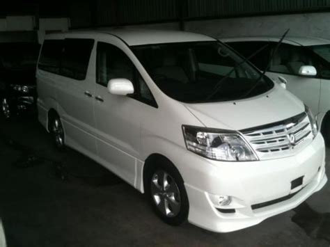Toyota Alphard 2 4 Review Toyota Alphard 2 4 At Photos And Comments Www Picautos