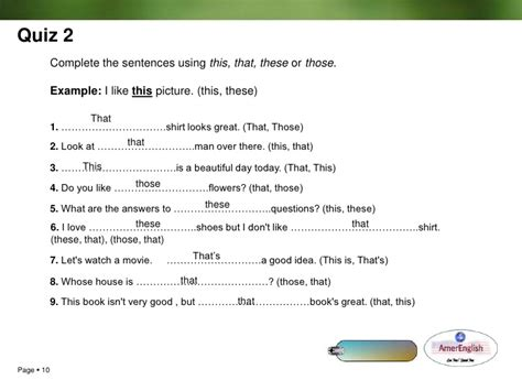 preguntas con this that these those demonstratives