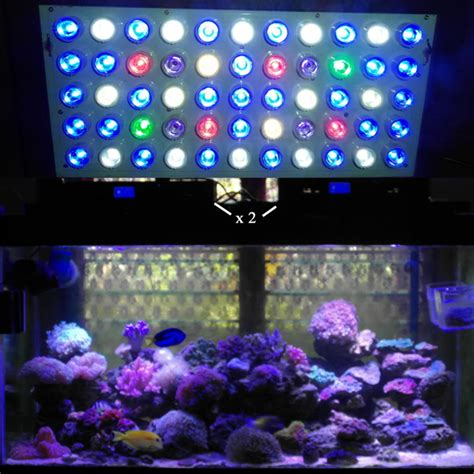 aquarium led lighting reviews review of ocean revive evergrow led lights for reef