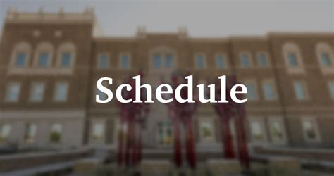 Evening Mba Schedule At Tech by Schedule Working Professionals Mba Programs Graduate
