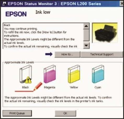 reset multifuncional l200 reset epson almofada e tinta l100 l110 l200 l210 l355 l800