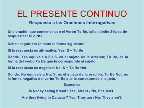 preguntas largas en presente perfecto el presente continuo