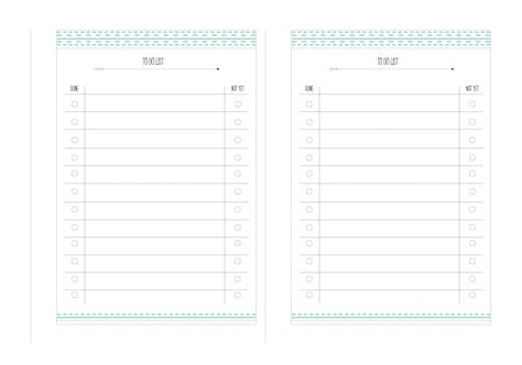 printable planner agenda image gallery printable agenda