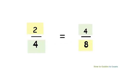 How Find On How To Find Equivalent Fractions