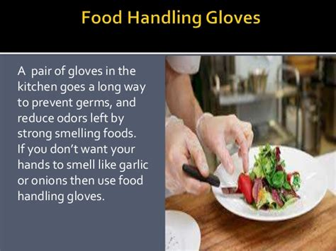 What Do You Wear While Cooking by Use Of Gloves While Cooking