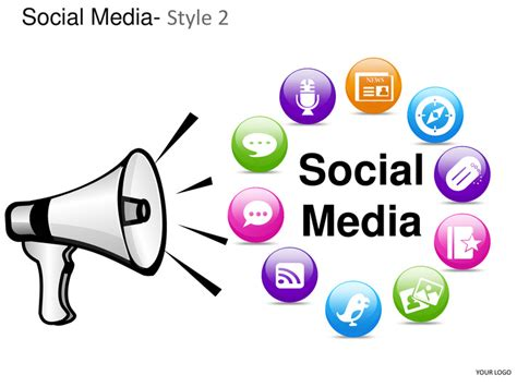 media powerpoint templates social media style 2 powerpoint presentation templates