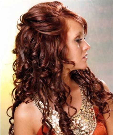hairstyles for curly hair simple easy hairstyles for long curly hair 2013