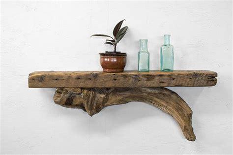 unique wood shelves 45 00 reclaimed wood shelf driftwood shelf rustic