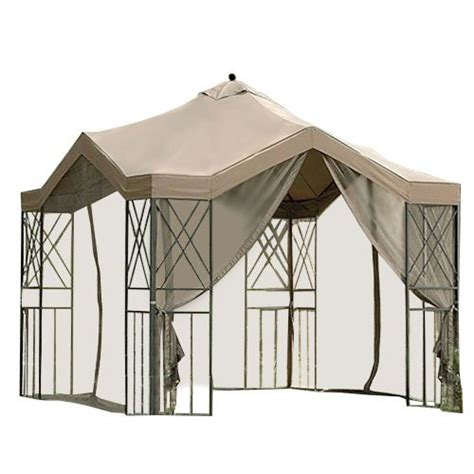 Deluxe Gazebo Garden Winds Replacement Canopy For Deluxe Pagoda Gazebo