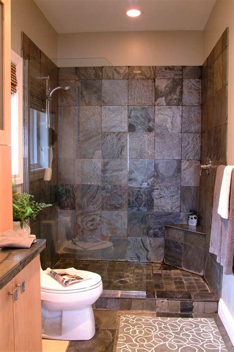 Bathroom Labour Cost by Pebble Shower Floor Custom Home Design
