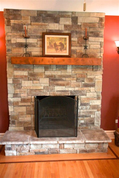 Does My Stone Fireplace Have To Extend To The Ceiling