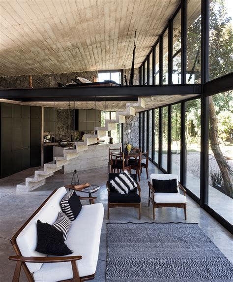 cadaval and sola morales completes ma house in mexico