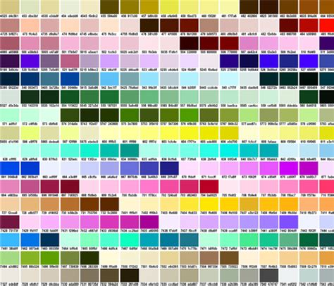 Pantones by Pantonecolorchart Fabric Tammikins Spoonflower