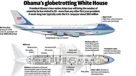 interior layout of air force one president obama s white house in the sky the courier mail