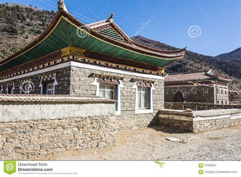 folk house tibetan folk house stock photo image 67653824
