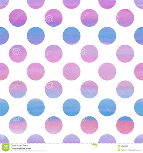 pattern pink and blue seamless pink and blue watercolor pattern stock vector