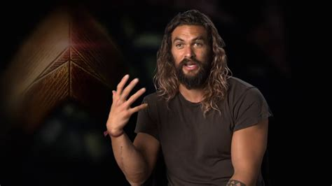 wonder actor interview justice league quot aquaman quot official movie interview jason