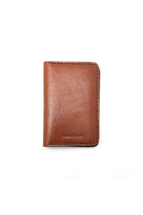 Handcrafted Leather Goods - foxtail goods handmade leather wallet from california by
