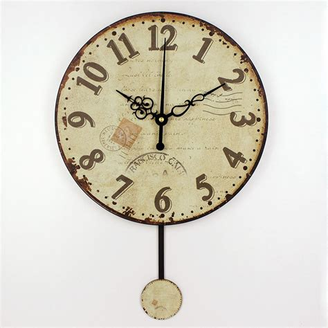 unique wall clocks wholesale fashion living room decorative pendulum mute