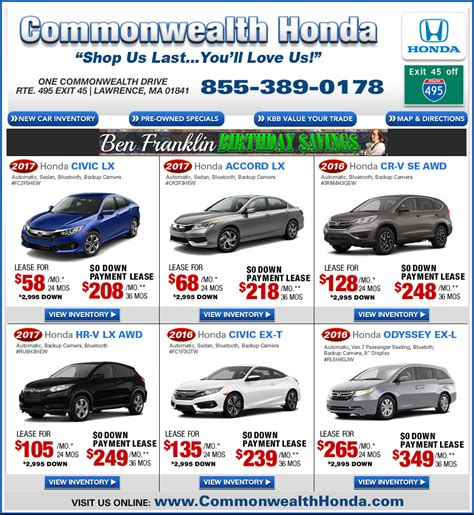 commonwealth motors ma ma honda dealers deals from commonwealth honda ma