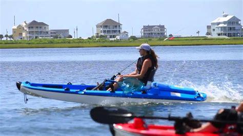 stick boats kayak jet angler a jet propelled fishing kayak gadgetking